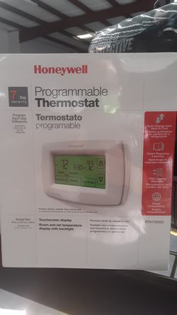 Programable thermostat - Honeywell for Sale in Fontana,  CA
