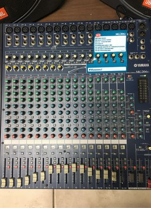 YAMAHA MG206c 20Ch Pro Grade Stereo Rack Mountable Audio Mixer for Sale in Spring Valley, CA