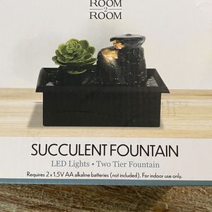 Succulent Fountain / Relax / Mindfulness / Yoga for Sale in Lynwood, CA