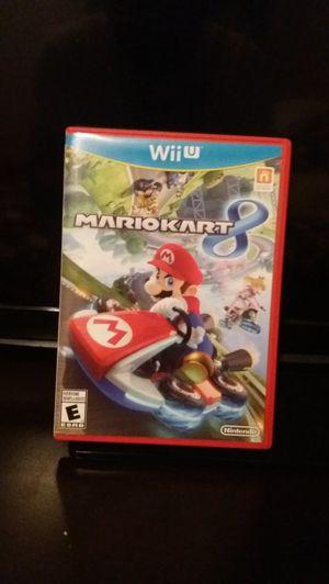 Mario Kart 8 Nintendo Wii U for Sale in Peoria, AZ