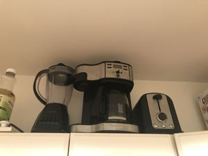 Blender,Coffee maker and toasted SALE for Sale in Weehawken, NJ