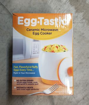 Firm Price! Brand New in a Box Ceramic Microwave Egg Cooker, Located in North Park for Pick Up or Shipping Only! for Sale in San Diego, CA