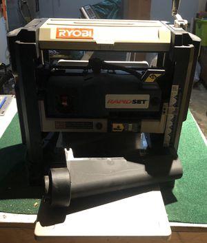 "Ryobi 13"" Rapid Set Planer for Sale in Mill Creek, WA"