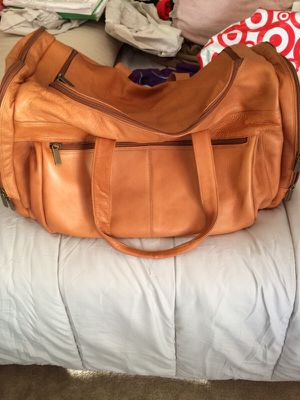 Genuine Leather Duffle for Sale in Silver Spring, MD
