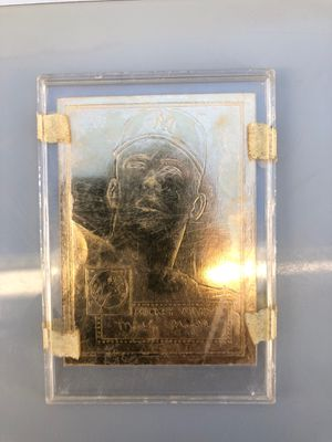 Mickey Mantle TOPS collectors baseball card gold plated for Sale in Mesa, AZ