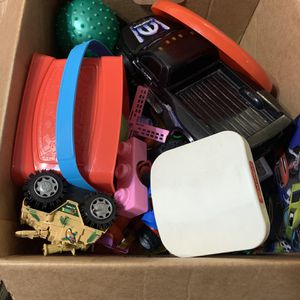 Box Of Toys For Free for Sale in Redmond, WA