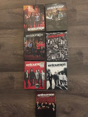 Entourage DVD box sets - Seasons 1-6; Excellent condition for Sale in Rockville, MD