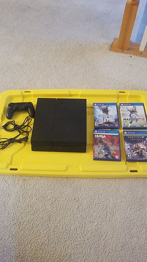 Great value! PS4 - Bundle with games. for Sale in Rockville, MD