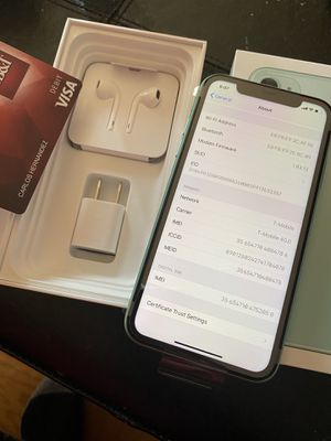 iPhone 11 green for Sale in Charlottesville, VA