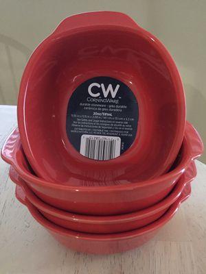 Corningware Set of 4 Bakeware 20 oz NEW for Sale in Glendale, AZ