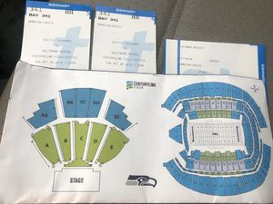 2 Seahawks Ravens tickets 10/20 $115 each for Sale in Seattle, WA