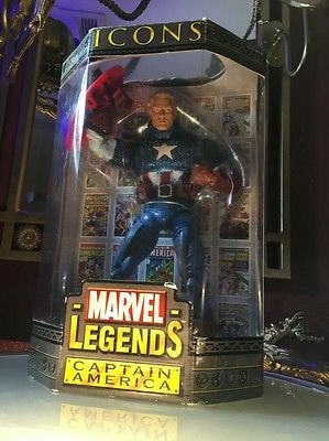 """Icons Marvel Legends 12"""" Captain America New in box for Sale in Leander, TX"""
