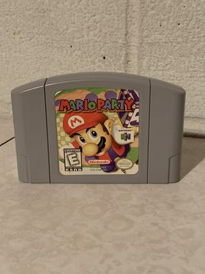 Mario Party Nintendo 64 Authentic Tested for Sale in Euclid, OH