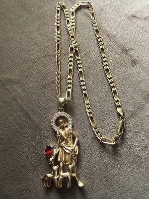 New chain + pendant for Sale in Hartford, CT
