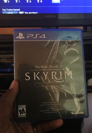 Skyrim Special Edition PS4 for Sale in Severn, MD