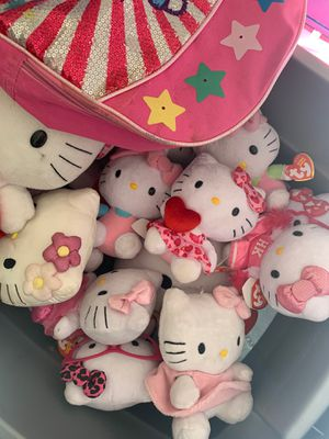 Hello kitty stuffed animals for Sale in Lake Elsinore, CA