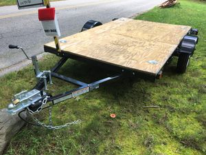New Northern Tools Ironton 5ft. x 8ft. Heavy-Duty Utility Trailer. 1980-lb. Max. Load Capacity. for Sale in Norton, MA