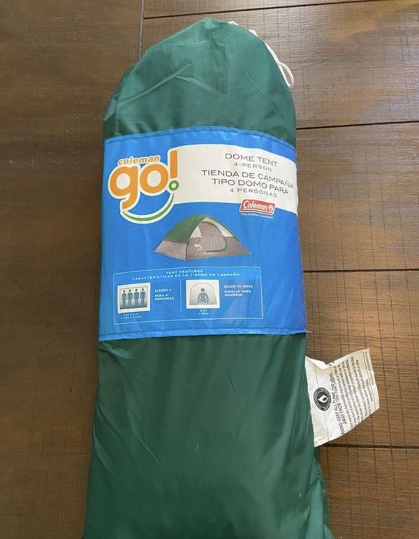 Coleman 4 person tent - brand new in sealed package! Never used