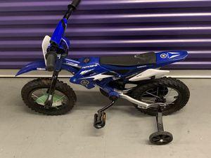 Yamaha 12 in Moto BMX Boys Bike, Blue for Sale in Duluth, GA
