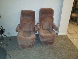 Flexsteel captains seat pair rv or van conversion for Sale in Fort Lauderdale, FL