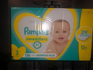 Pampers swaddlers size #3!! for Sale in Jonesboro, GA