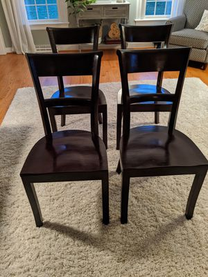 Set of 4 Crate & Barrel Dining Chairs for Sale in Mechanicsville, VA