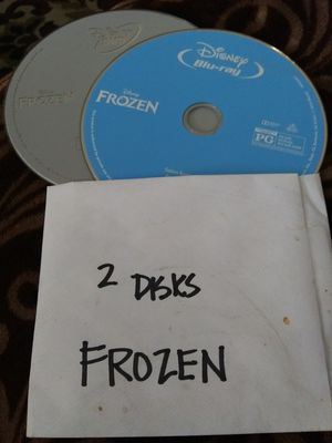 FROZEN 2 DISKS MOVIE PERFECT FOR YOUNG KIDS. for Sale in Garden Grove, CA