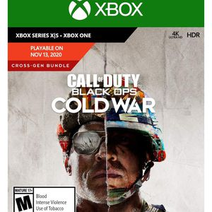 Call of Duty Black Ops Cold War - Series X for Sale in Fairfax, VA