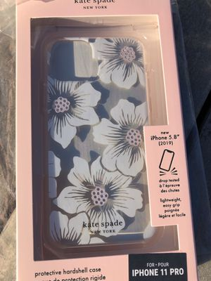 Kate spade defensive hardshell IPHONE 11 pro for Sale in Fontana, CA