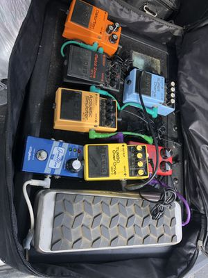 Guitar pedales for Sale in Silver Spring, MD