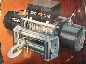 Badland 9000 lb. Off-Road Vehicle Electric Winch w Auto Load-Holding brake for Sale in San Diego, CA