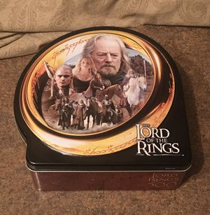 Lord of the Rings Collectible Tin for Sale in Fox Lake, IL