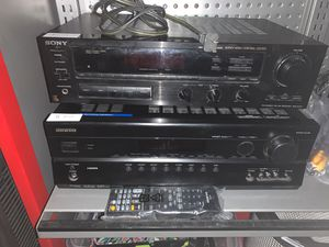 Sony/onkyo for Sale in Maricopa, AZ