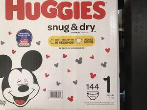 Huggies Diaper size 1 for Sale in San Jose, CA