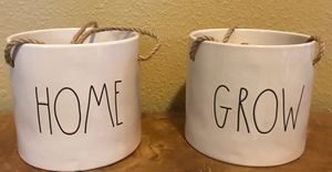 Rae Dunn Hanging flower pots for Sale in Astatula, FL