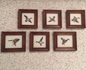Hand stitched images of wild birds. for Sale in Midlothian, VA
