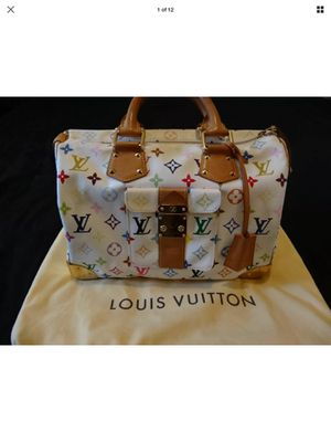 100% authentic Louis Vuitton murakami multicolor speedy bag for Sale in Round Rock, TX