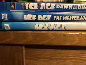 Ice Age 1-3 Blu-Ray for Sale in Los Angeles, CA