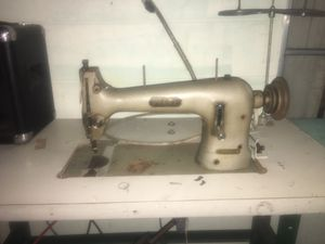 Phaff in industrial sewing machine used for leather vinyl and other heavy fabric it is made in Germany all metal parts will not break it is powered b for Sale in Avon Park, FL