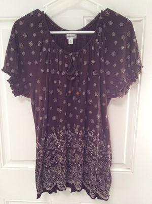 SALE! Brand new Dress Barn Brown women shirt , clothing for Sale in Marshfield, MA