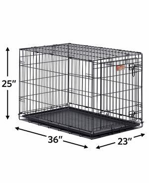 """Intermediate 36"""" , 1 door pet wire cage for Sale in Scottsdale, AZ"""