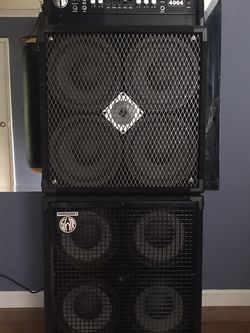 SWR bass Amp Full Stack for Sale in San Jose,  CA