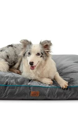 Bedsure Waterproof Dog Bed for Large Dogs with Removable Washable Cover and Waterproof Liner Up to 75lbs - Plush 4 inch Thick Fleece Top with Nonskid for Sale in Henderson,  NV