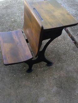 Antique Silent Giant Student Desk for Sale in Largo,  FL