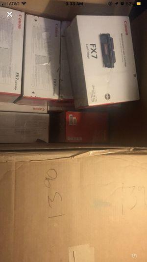 Lot of 27 Canon FX7 genuine toners for Sale in Wichita, KS