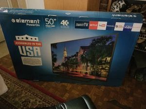 Element 50 inches smart almost new smart tv for Sale in Mountlake Terrace, WA