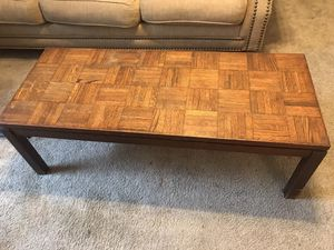 Coffee table with side tables and lamps for Sale in Orlando, FL