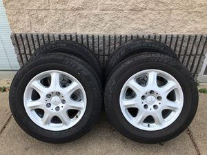 Mercedes Benz S Class OEM Wheels Rims 225/ 60R16 225/60/16 for Sale in Arlington Heights, IL