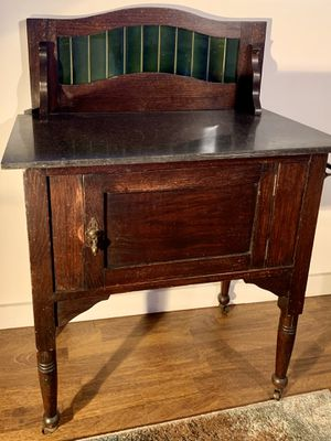 Beautiful Antique Wash Stand with Marble Top. for Sale in Renton, WA
