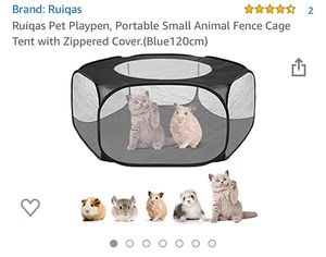 Small pet play pen, cage for Sale in Portland, OR
